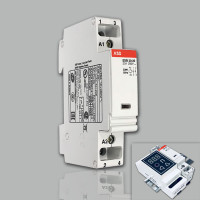 Модульный контактор ABB ESB-20-20 (20А AC1) 220В АС