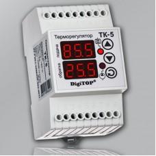 Терморегулятор DigiTOP ТК-5 для отопления с 2-мя датчиками t